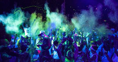 black light glow party glow races and glow runs blank extreme entertainment