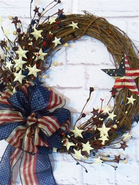 rustic americana decor ideas  pinterest