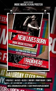 Indie Music Flyer / Poster by Shelby67 | GraphicRiver