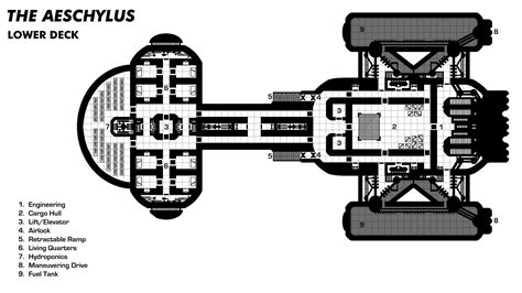 alfa img showing spaceship layout plans firefly