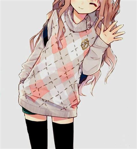 Anime School Girl By Danesse198 On Deviantart