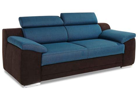 3ersofa  Blau  Sofas Zum Halben Preis