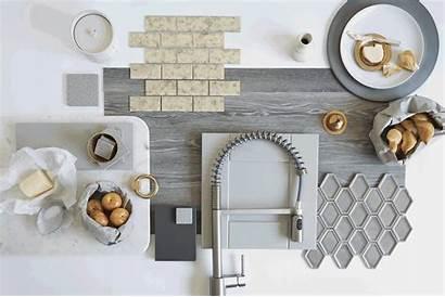 Kitchen Tile Interior Board Handles Mood Boards