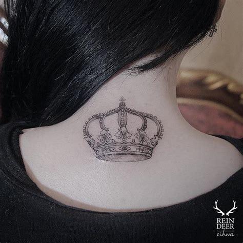 neck crown tattoo  tattoo ideas gallery