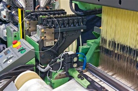 electronic control systems  weaving textile centre