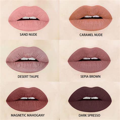 lipstick color brown and liquid matte lipsticks espresso