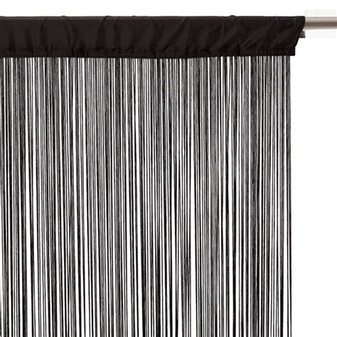 rideau fil l90 noir eminza