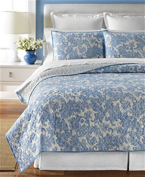 CLOSEOUT! Martha Stewart Collection Windfall Quilts (Only at Macy's) Quilts & Bedspreads Bed