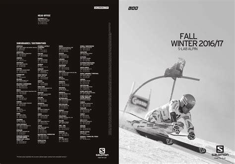 salomon katalog 2016 2017 by skirace by professionalsport