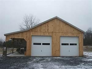 pole barn wooden post frame building With 40x40 pole barn kit