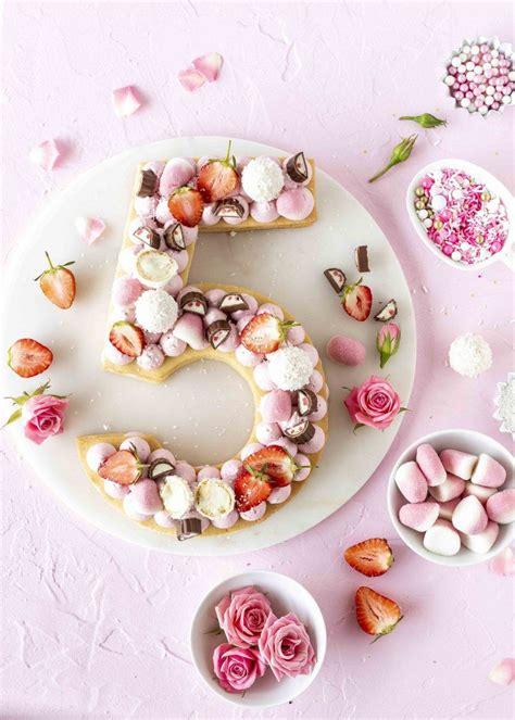 candy number cake kuchentrend  emmas