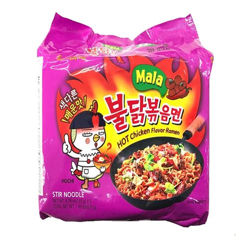 samyang 2x spicy chicken flavor ramen