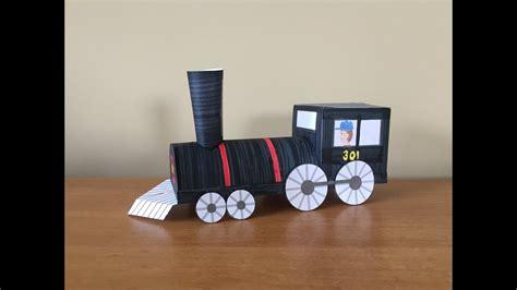paper train part  locomotive youtube