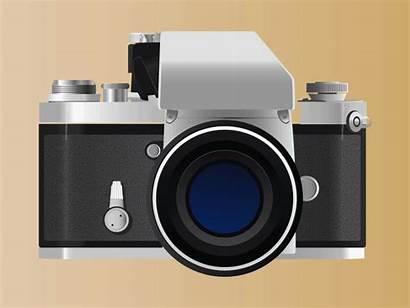 Camera Nikon Evolution History Animated Cameras Gifs