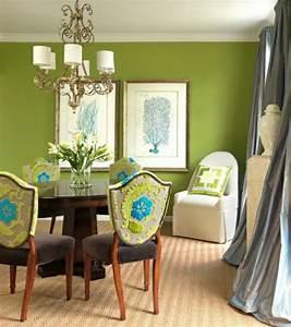Bilder An Der Wand : 72 gute interieur ideen gr ne wandfarbe ~ Lizthompson.info Haus und Dekorationen