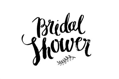 bridal shower clip bridal shower brush vector web elements creative market