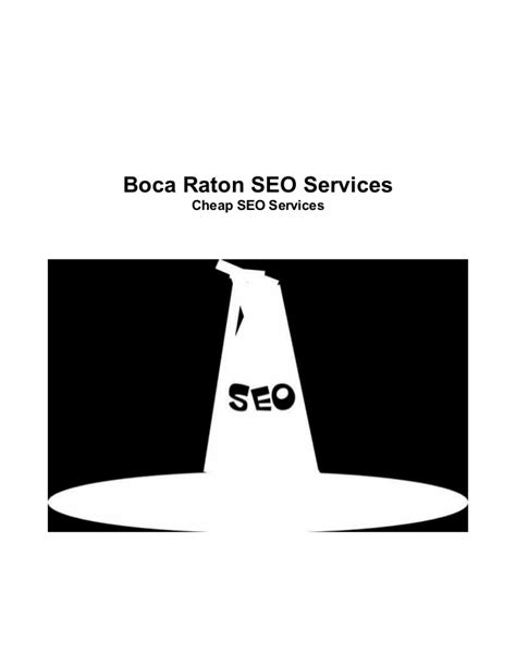 cheap seo cheap seo services in boca raton