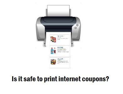 is it safe to install coupon printer