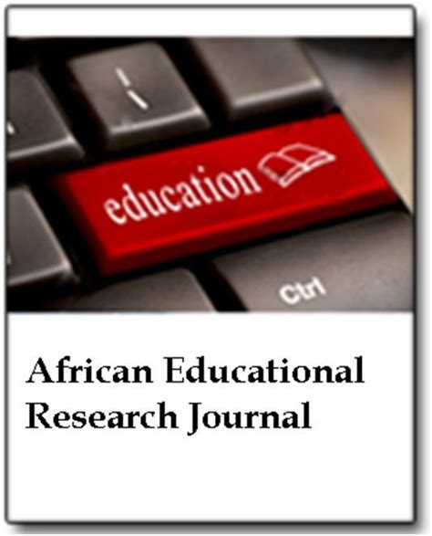 african educational research journal index net journals