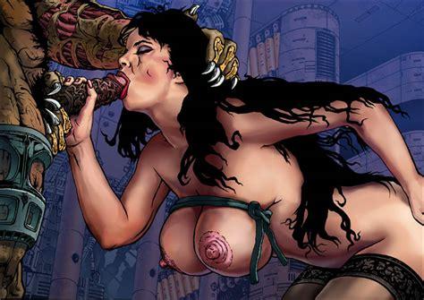 Scifi Sci Fi Sex Hentai Erotic Art Drawing Drawings Pic