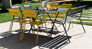 cargo table garden table for 8 outdoor furniture With mobilier de jardin fermob 5 chaise luxembourg chaise de jardin metal