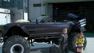 Final Fantasy 15 Goes Off Roading With A Monster Truck