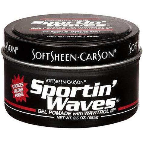 sportin 39 waves styling gel pomade 3 5 oz walmart com