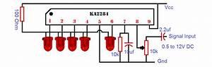 Ka2284 Based Audio Level Indicator Circuit Will Use