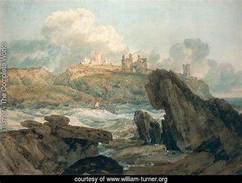turner  complete works dunstanburgh castle