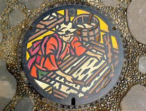 The beauty of japans artistic manhole covers colossal for The beauty of japans artistic manhole covers