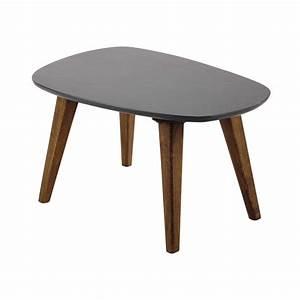 Table Basse Retro : table basse vintage en bois grise l 70 cm janeiro maisons du monde ~ Teatrodelosmanantiales.com Idées de Décoration