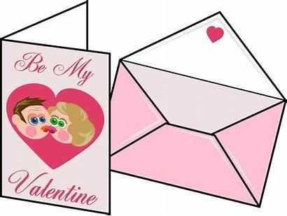 Card Valentines Clipart Clip Clker Cliparts Illustration