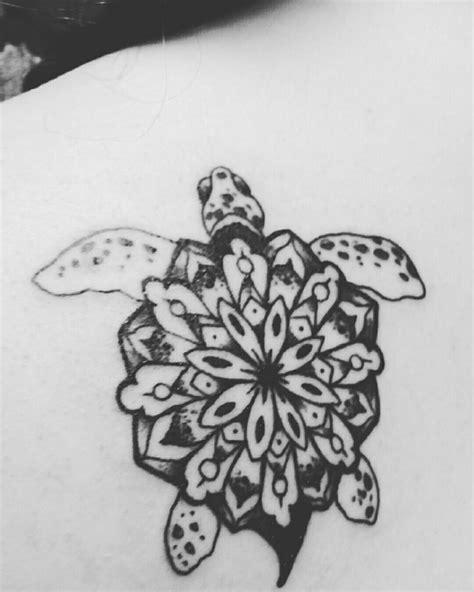 turtle mandala tattoo tattoos pinterest