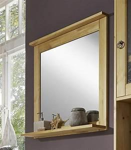 Spiegel Weiß Holzrahmen : badezimmer spiegel 67x67 kiefer gelaugt ge lt badspiegel holz massiv ~ Indierocktalk.com Haus und Dekorationen