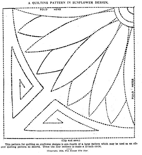 Vintage Hand Quilting Patterns  Q Is For Quilter