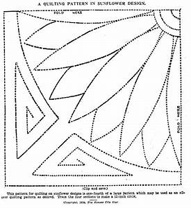 vintage hand quilting patterns q is for quilter With hand quilting designs templates