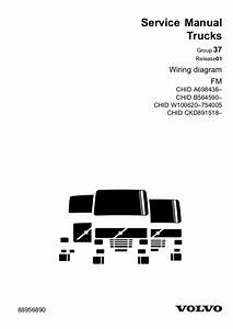 Volvo Service Trucks Group 37 Wiring Diagram