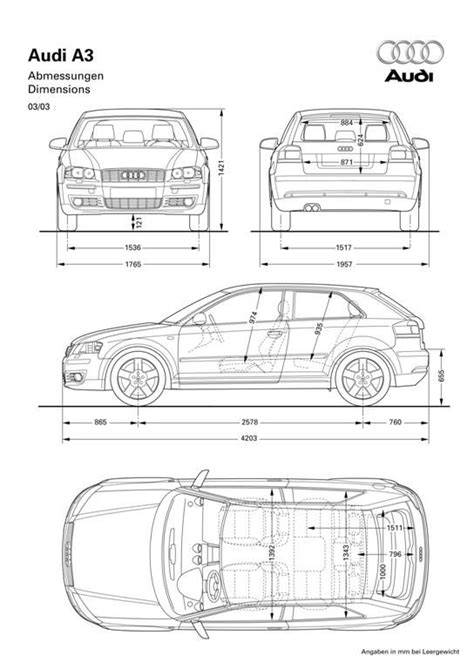 Audi A3 | Blueprint Database | Pinterest | Audi a3, Cars