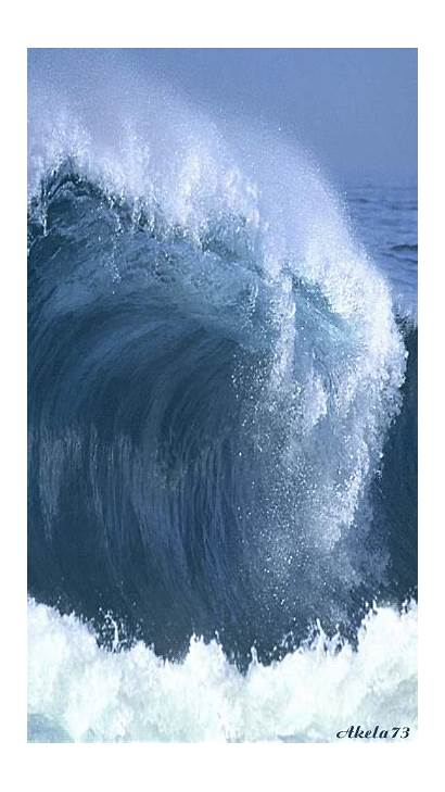 Waves Ocean Animated Water Sea Gifs Amazing