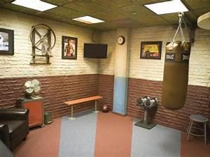 Fitnessstudio Zu Hause : pin von jimmy auf garage gym pinterest keller raum und fitnessstudio ~ Indierocktalk.com Haus und Dekorationen