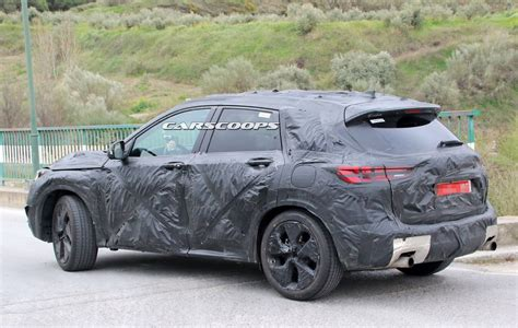 infiniti qx prototype shows  led headlight