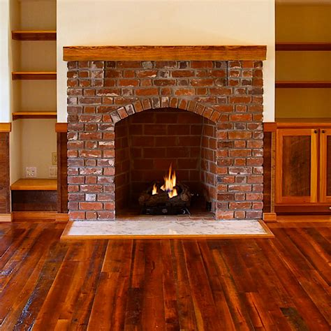 image of fireplace surround ideas pine beams and rustic mantels e t lumber