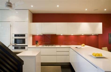 Küche Wandfarbe Rot by K 252 Che Wandgestaltung Glas Spritzschutz Wandfarbe Rot