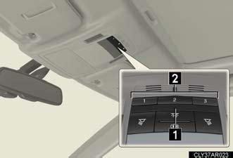 Lexus Rx Garage Door Opener by Garage Door Opener Other Interior Features Interior