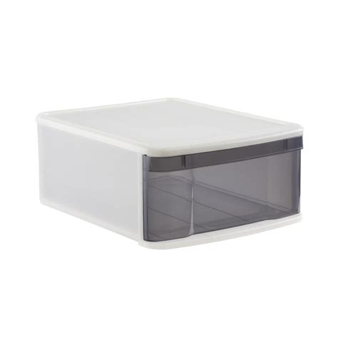 stackable storage drawers large tint stackable storage drawer the container
