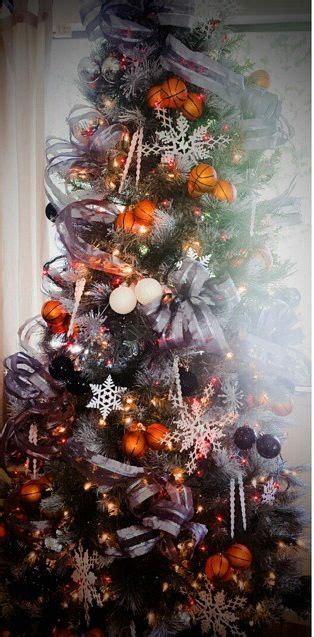 sports theme christmas tree basketball christmas pinterest