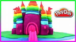 Play Doh Rainbow Castle Of The Princess Plasticine