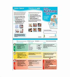 asthma action plan template 13 free sample example With asthma brochure template