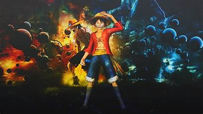 Piece Wallpapers Backgrounds Pc Luffy Crew Background