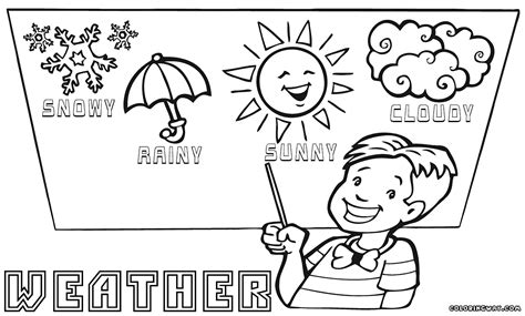 weather coloring pages coloring pages to and print